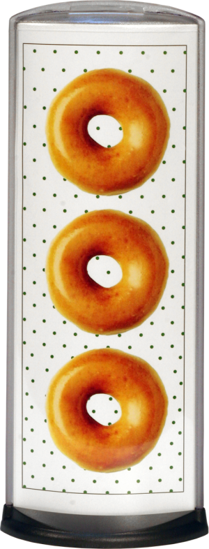 Podia Vertical Display - Donuts - 2