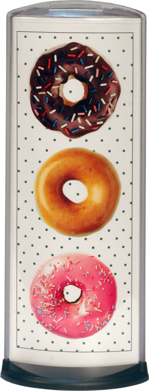 Podia Vertical Display - Donuts