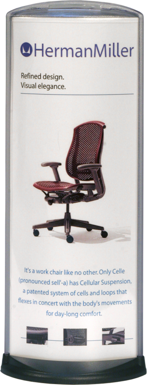 Podia Vertical Display - HermanMiller