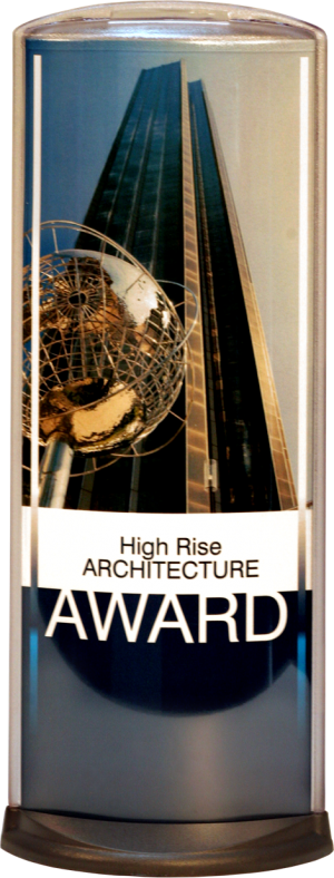 Podia Vertical Display - High Rise Award