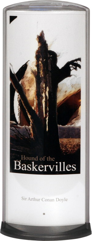 Podia Vertical Display - Hound Of Baskervilles