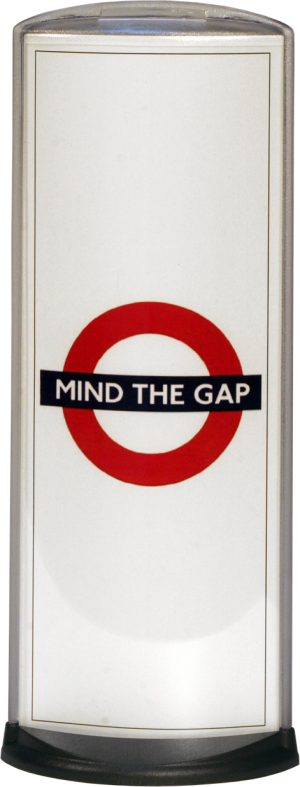 Podia Vertical Display - Mind The Gap